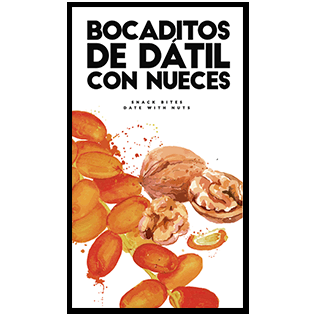 bocaditos bocadito datil nuez