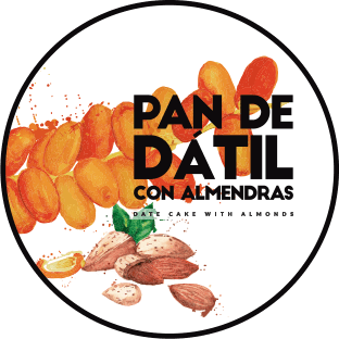 frutas secas pan datil almendras