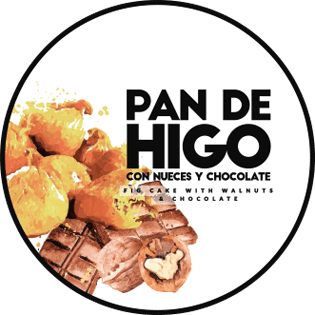 frutas secas pan higo nueces chocolate
