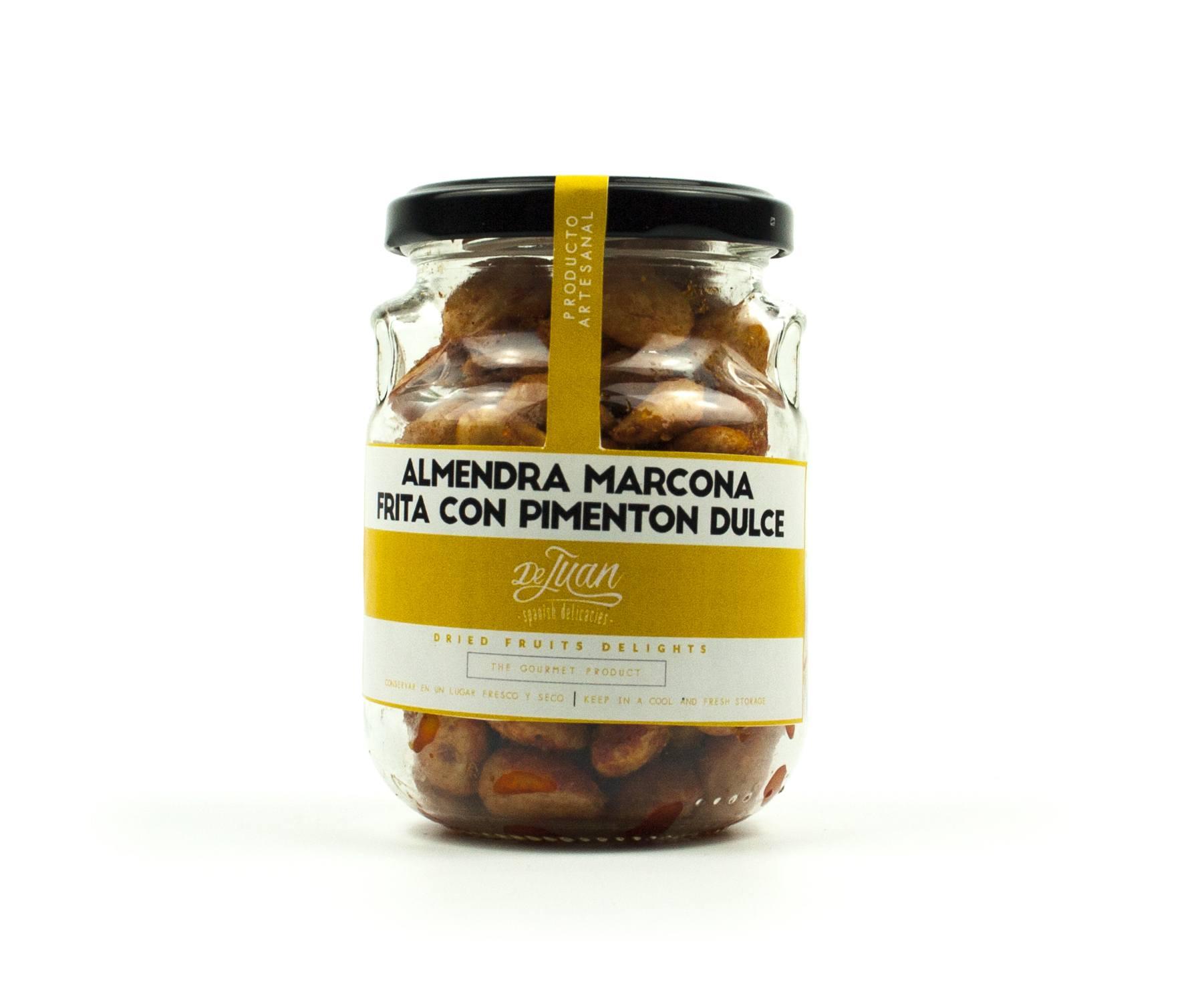 Almendra Marcona Frita con Pimenton Dulce