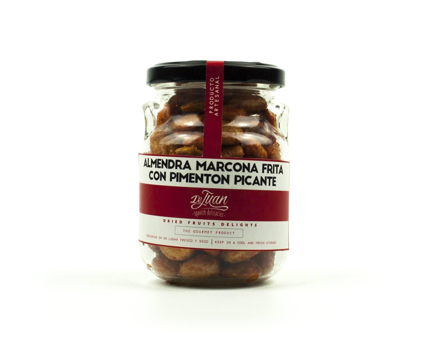 Almendra Marcona Frita con Pimenton Picante