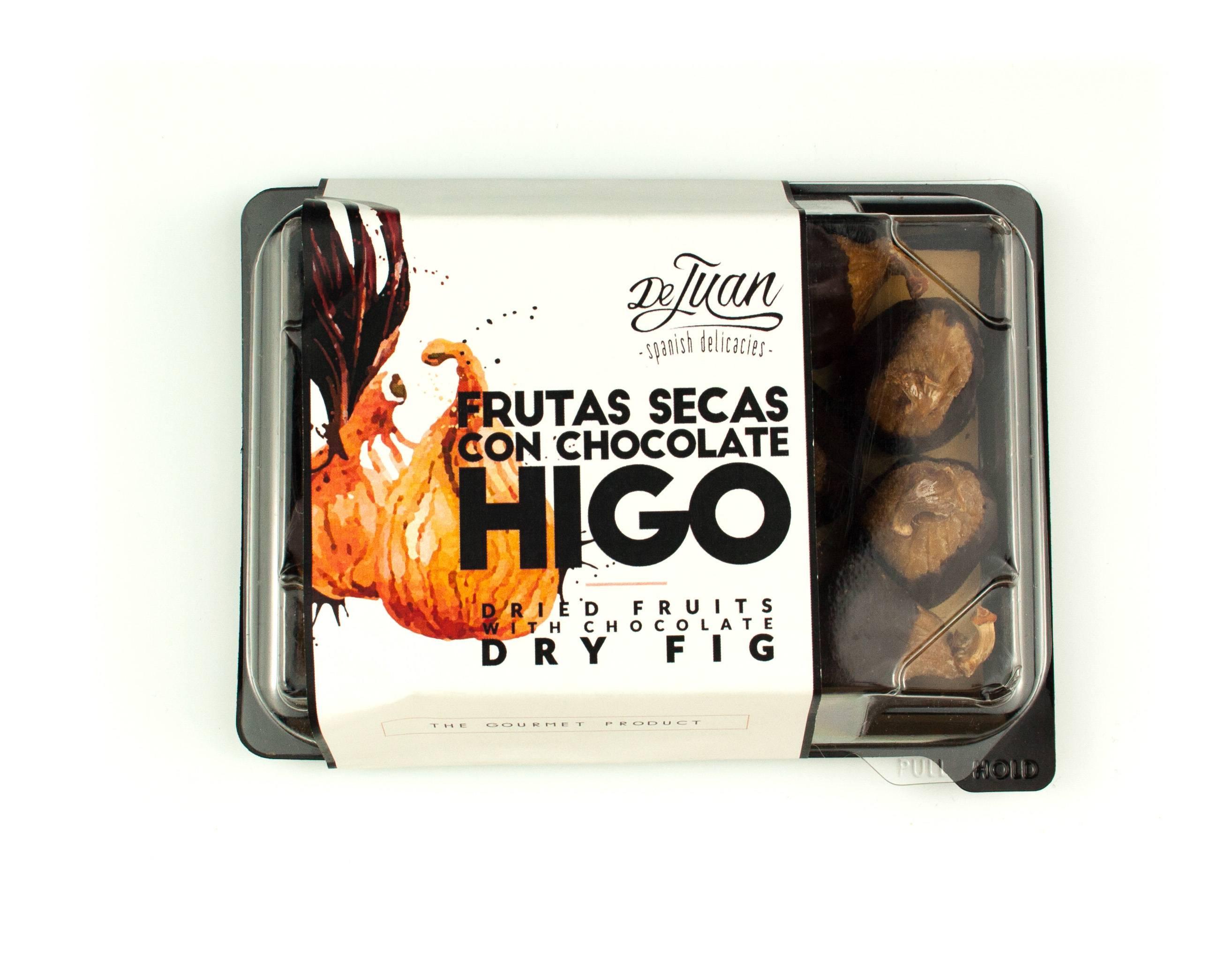 Frutas con Chocolate e Higo