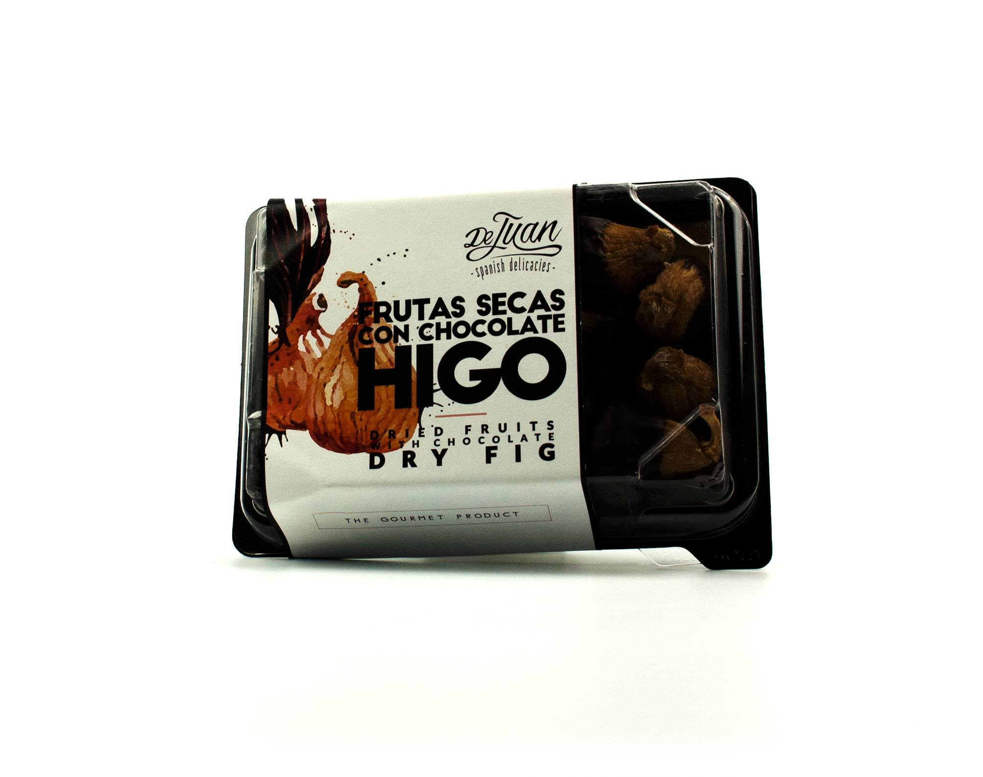 Frutas con Chocolate y Higo