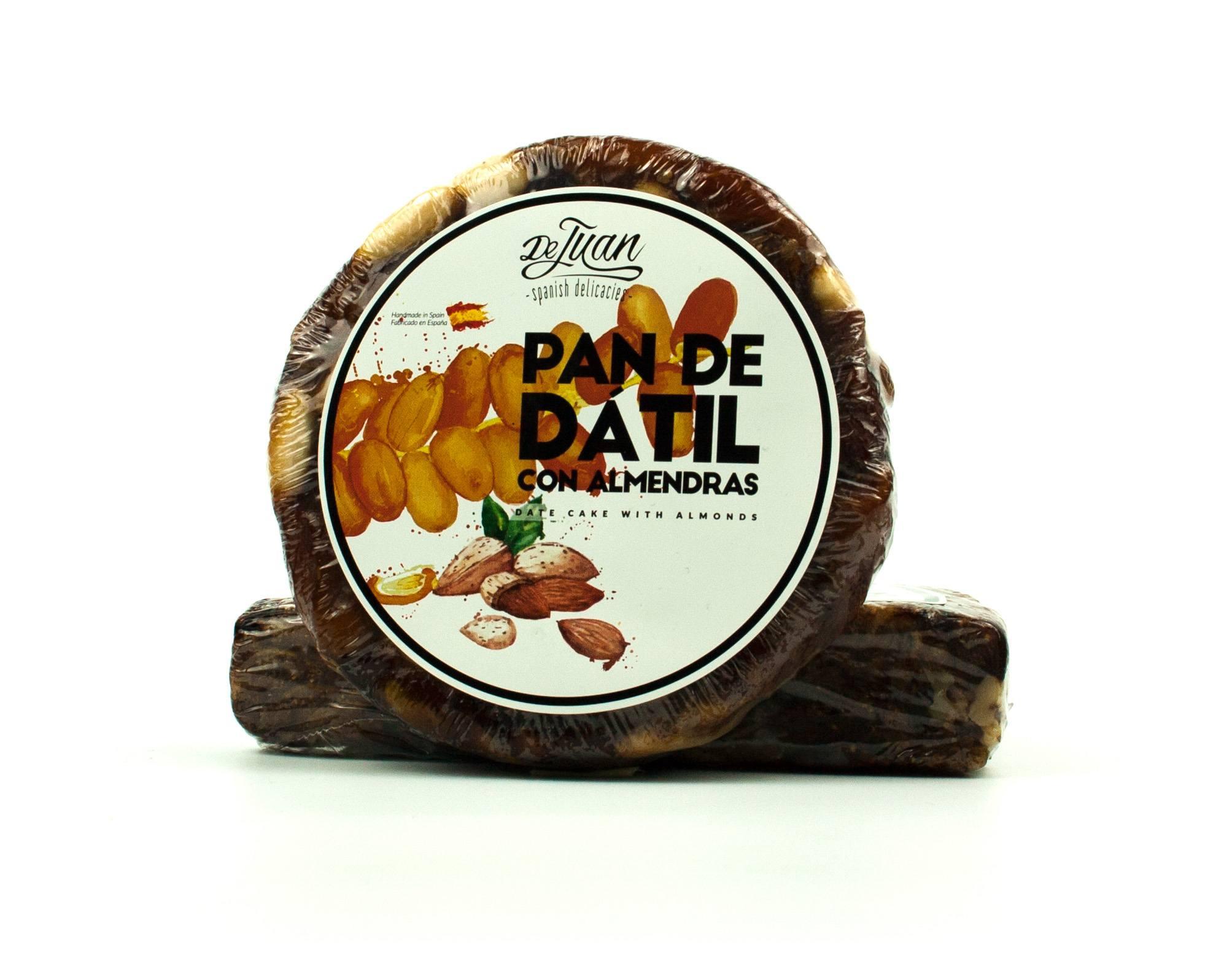 Pan de Dátil con Almendras