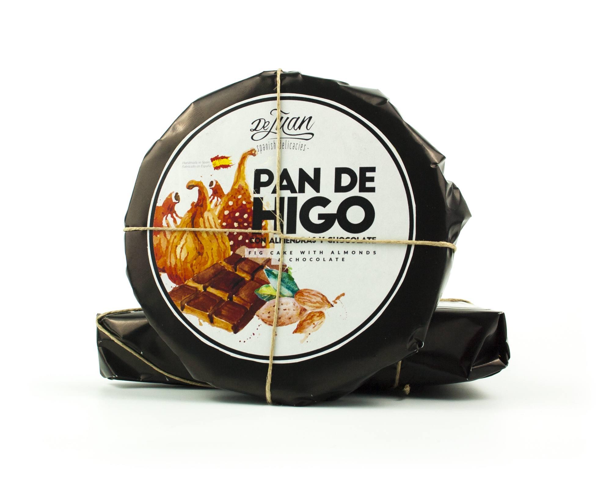 Pan de Higo con Almendras y Chocolate Gourmet