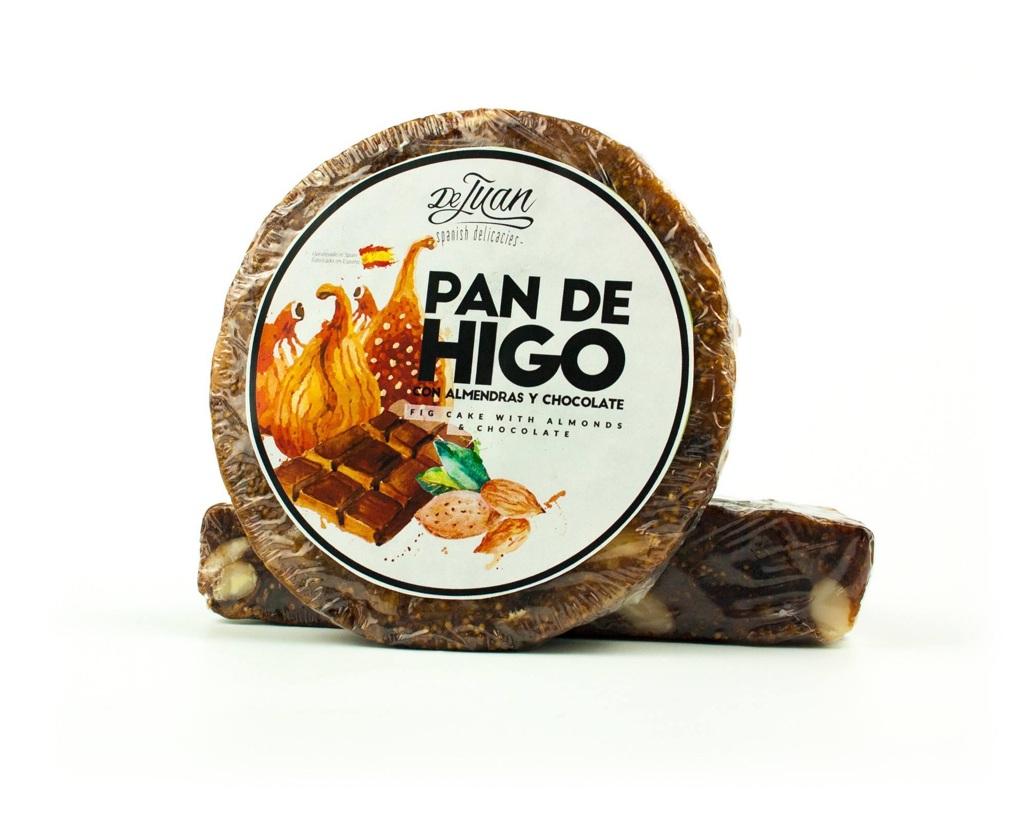 Pan de Higo con Almendras y Chocolate