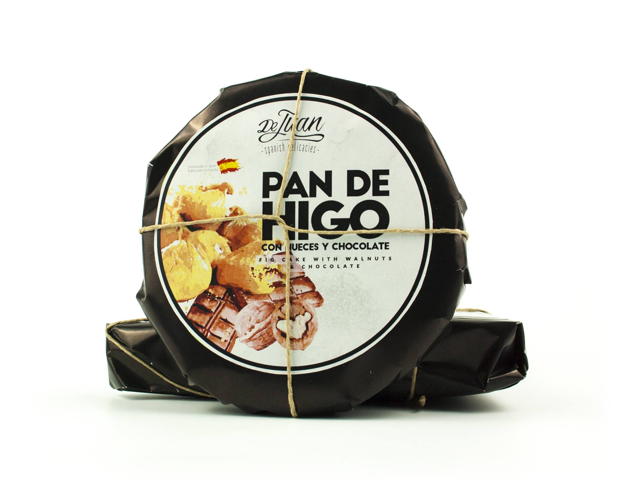 Pan de Higo con Nueces y Chocolate Gourmet