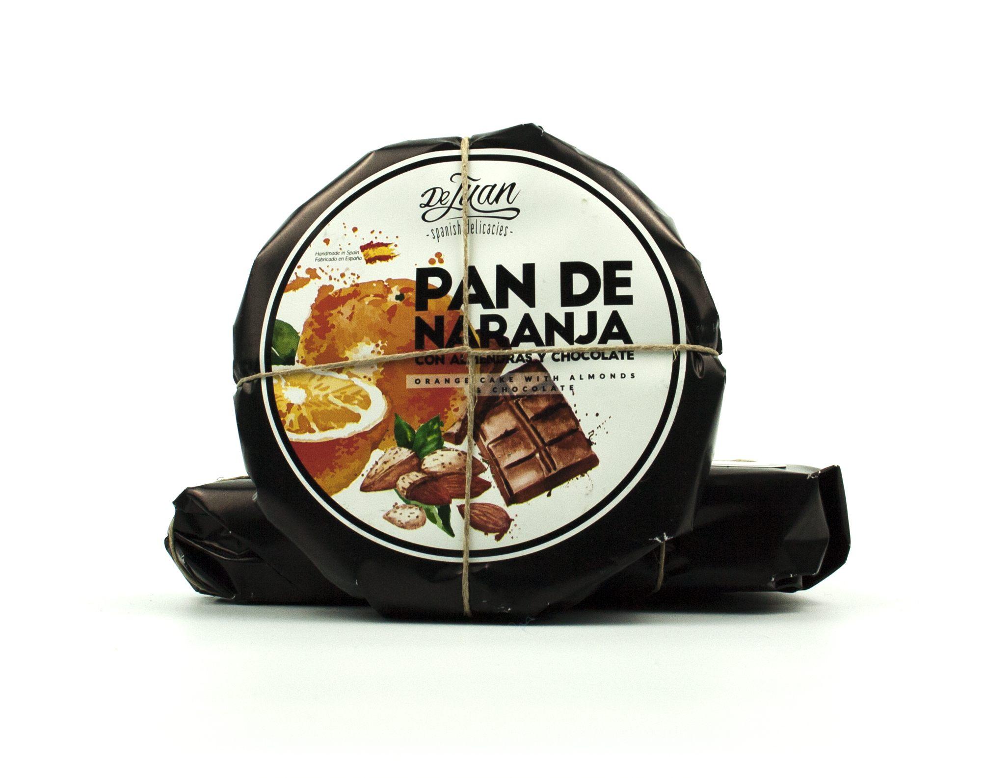 Pan de Naranja con Almendras y Chocolate Gourmet