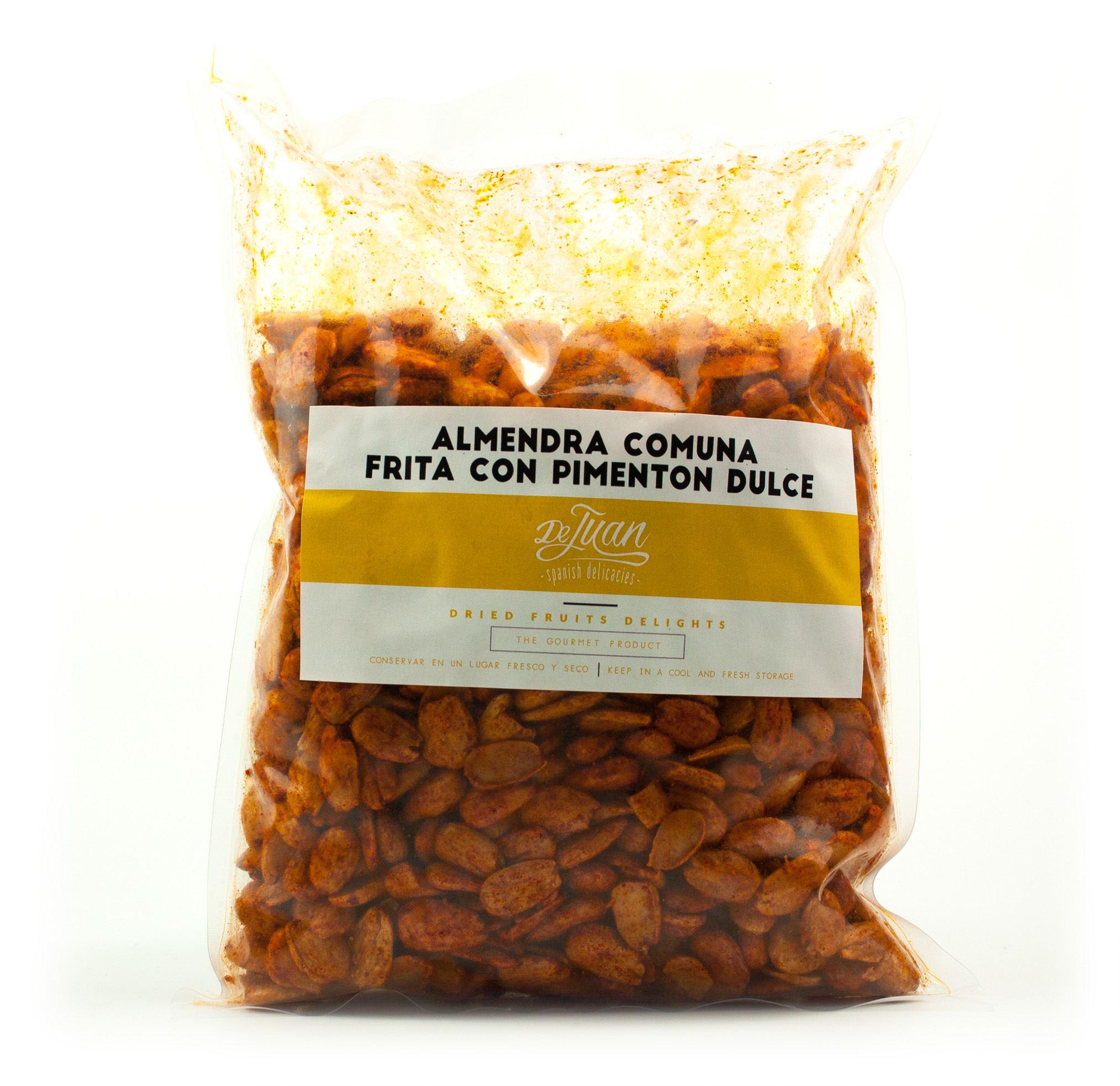 Saco de Almendra Comuna Frita con Pimentón Dulce