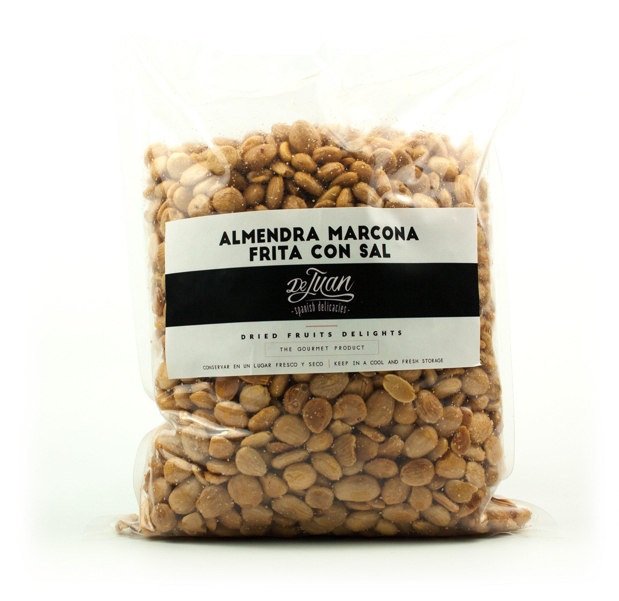 Saco de Almendra Marcona Frita con Sal